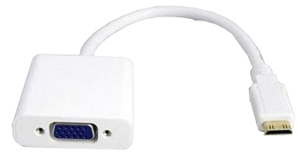 Digitus mini HDMI Type C (M) to VGA (F) Adapter Cable