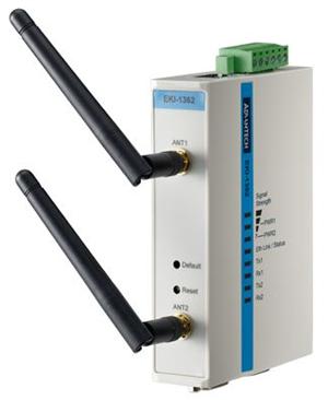 Advantech EKI-1362-AE 2 Port Serial To 802.1/BGN Device Server