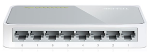 TP-Link SF1008D 8 Port 10/100 Switch Plastic Case