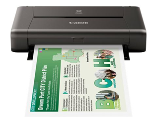 Canon iP110 A4 20ppm Portable Inkjet Printer
