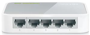 TP-Link SF1005D 5 Port 10/100 Switch Plastic Case
