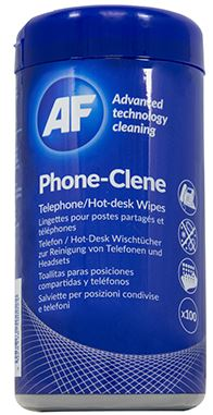 AF Phone-Clene Anti-Bacterial Phone Wipes Tub