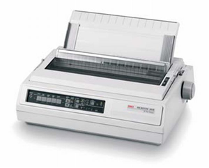 "OKI ML3410 9 Pin 15"" Dot Matrix Printer"