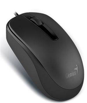 Genius DX-120 USB Wired Mouse Black