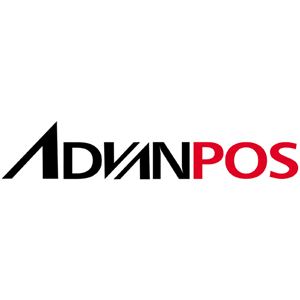 AdvanposUPOS 530 VFD Customer Display Unit Rear Attached