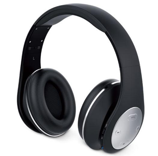 Genius HS-935T Bluetooth Headphones Black From Dove Electronics