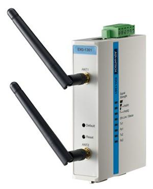Advantech EKI-1361-AE 1 Port Serial to Wifi 802.1/BGN Device Server
