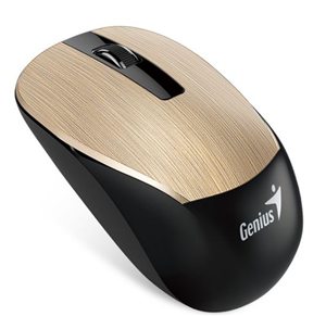 Genius NX-7015 Anywhere Wireless Mouse Gold