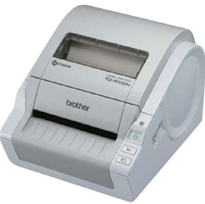 Brother TD4100N Desktop Barcode Label Printer