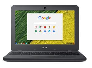 """Acer C731e Chromebook 11.6"""" Quad N3160 2.1GHz 4GB 16GB HDMI rugged"""