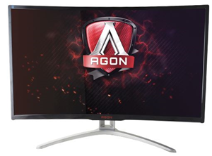"AOC AGON AG322FCX 32"" Curved 16:9 1920x1080 4ms 144Hz DP Monitor"