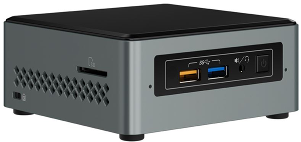 Intel Nuc6cayh Celeron J3455 2 3ghz Nuc Desktop Kit From