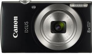Canon IXUS 185 20.0MP 8x Zoom Digital Camera Black