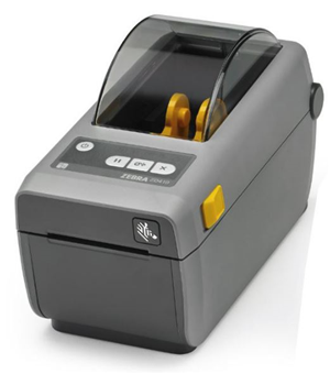 "Zebra ZD410 2"" 203dpi Direct Thermal Printer USB/Ethernet/Bluetooth"