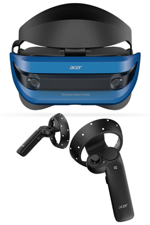 Acer HMD Mixed Reality VR Headset with Controllers