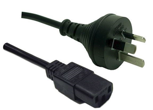 Digitus 10A/250V IEC (M) to 3 Pin Power (M) 1.8m Power Cord