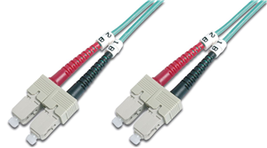 Digitus 2m Fibre Cable SC/SC duplex MM 50/125um OM3
