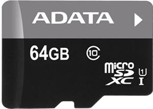 ADATA Premier microSDXC UHS-I Card 64GB