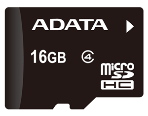 ADATA microSDHC Class 4 Card 16GB