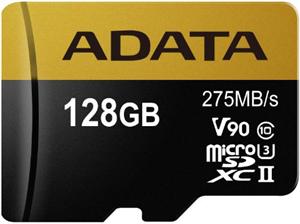 ADATA Premier ONE V90 UHS II Micro SDXC Card 128GB