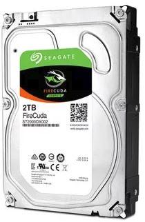 """Seagate FireCuda SATA 3.5"""" 7200RPM 64MB 8GB MLC 2TB SSHD 5Yr Wty"""