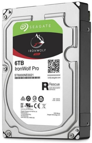 "Seagate IronWolf Pro SATA 3.5"" 7200RPM 256MB 6TB NAS HDD 5Yr Wty"