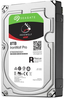 "Seagate IronWolf Pro SATA 3.5"" 7200RPM 256MB 8TB NAS HDD 5Yr Wty"