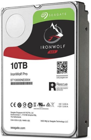 "Seagate IronWolf Pro SATA 3.5"" 7200RPM 256MB 10TB NAS HDD 5Yr Wty"