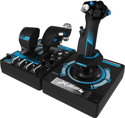Logitech G Pro X56 H O T A S Flight Control System From