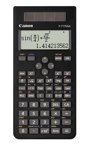 Canon F717SGA Black Scientific Calculator 242 Function