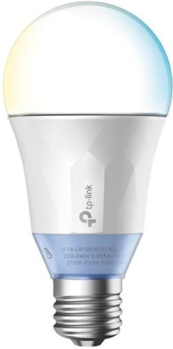 TP-Link LB120 Smart Wi-Fi LED Bulb Tunable White 2700-6500K