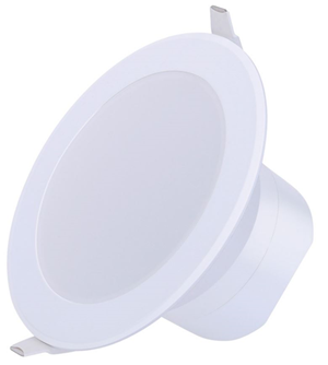 Verbatim LED Downlight (92mm) 11W 850lm 3000K Warm White IP44 Dim