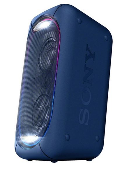 Sony Gtk Xb60 High Power Portable Audio System Blue From