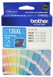 Brother LC135XLC Cyan High Yield Ink Cartridge