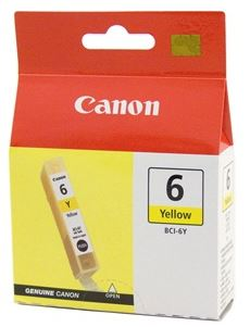 Canon BCI6Y Yellow Ink Cartridge
