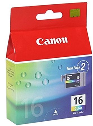 Canon BCI16 Colour Ink Cartridge Twin Pack