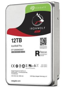 "Seagate IronWolf Pro SATA 3.5"" 7200RPM 256MB 12TB NAS HDD 5Yr Wty"