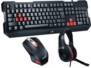 Genius KMH-200 Gaming Mouse, Keyboard and Headset Kit