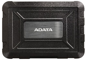 ADATA ED600 SATA USB 3.0 2.5 Rugged External HDD Enclosure - Black