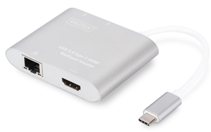 Digitus USB Type-C to HDMI Multiport Adapter with Gigabit LAN