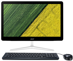 "Acer Aspire Z24-880^ 24"" FHD i5-7400T 8GB SSD AIO W10Home"