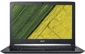 "Acer A515-51G 15.6"" i7-8550u 8GB 128SSD+1TB MX150 gfx W10Home Notebook"