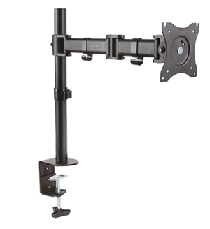 Digitus 15-27 Single Monitor Stand with Clamp Base