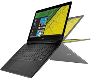 Acer Spin 5 15.6 FHD i7-8550U 8GB 256SSD GTX1050 W10 Home Touch Flip