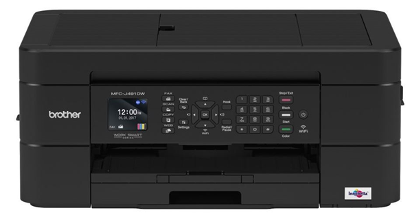 Brother Mfc J491dw 12ipm A4 Inkjet Multi Function Printer