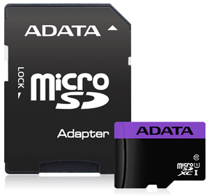 ADATA Premier microSDHC UHS-I Card with Adapter 16GB