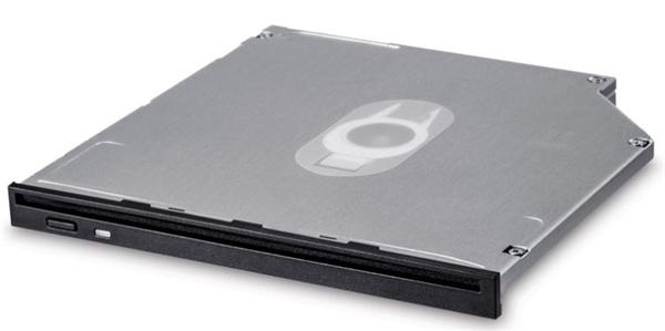Liteon DU-8A6SH 9.5mm Ultra Slim Internal DVDRW SATA Slot Load