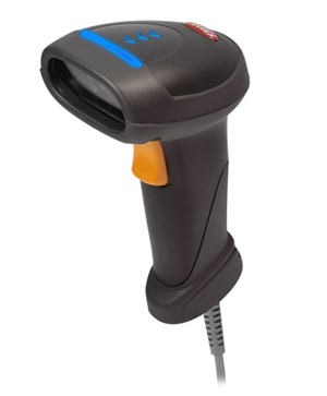 Zebex Z-3392 Plus Linear Imager 2D Barcode Scanner USB Black