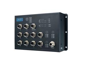Advantech EKI-9510E-2GMPL 10-Port Managed PoE M12 EN50155 Switch