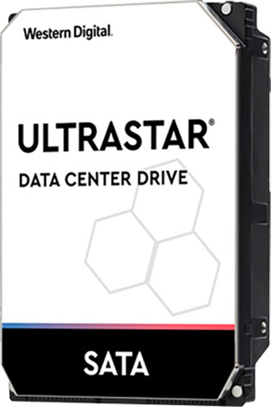 "Western Digital Ultrastar DC HA210 SATA 3.5"" 7200RPM 128MB 2TB NAS Hard Drive"